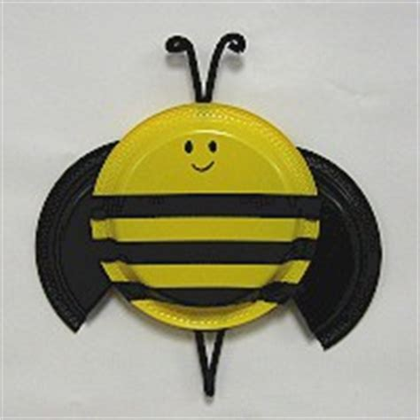 paper plate bumble bee craft pin paper plate bee craft for on