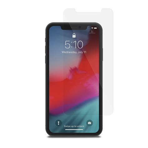 iphone xr glass screen protector airfoil glass by moshi