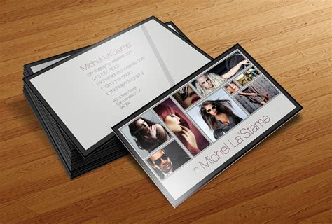 photographer business card template free photographer business card template v1 by cursiveq