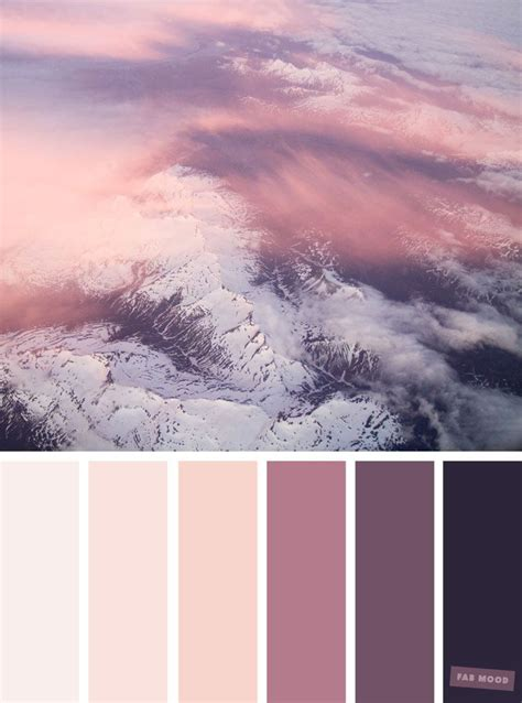 pretty color schemes blush tones pretty blush color schemes palette black