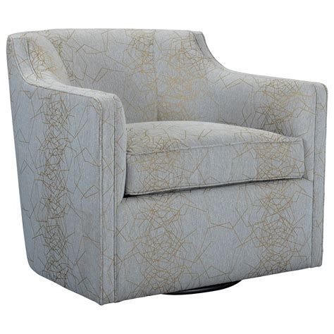 Broyhill Furniture Personalities Accent Chairs 9079 8 Broyhill Swivel Chair
