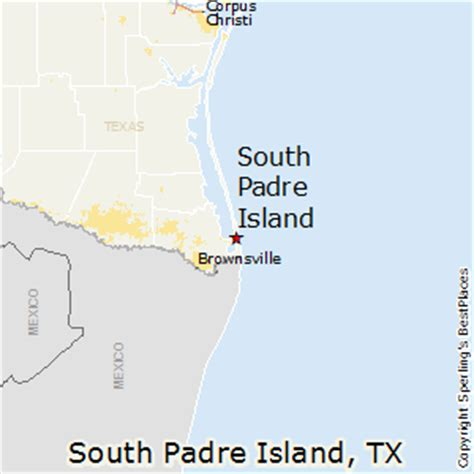 map of texas south padre island best places to live in south padre island texas