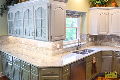Custom Marble Countertops by Kitchen Re Do At The Stephens House In Olathe Dean The