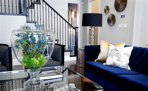 Navy Blue Living Room Ideas Adorable Home by Navy Blue Living Room Decorating Ideas Home Design