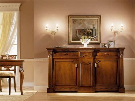 credenza classica legno massello credenza classica di lusso in legno massello per