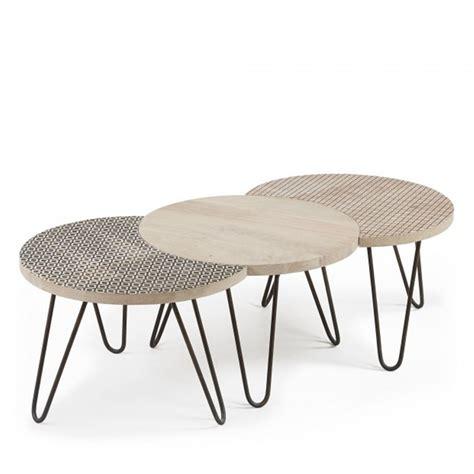 les tables basses tables basses modulables x3 en bois et m 233 tal houp drawer