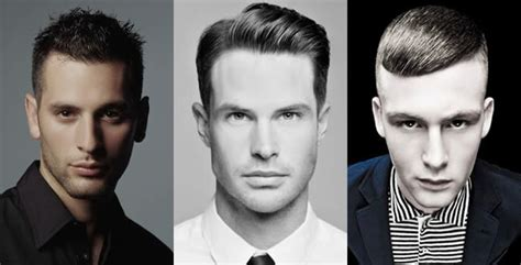 exles of different face shapes for men go fashion the right haircut for your face shape