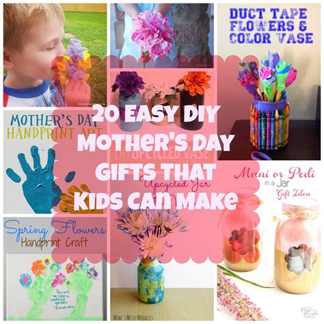 20 easy diy mothers day gifts that kids can make clipgoo