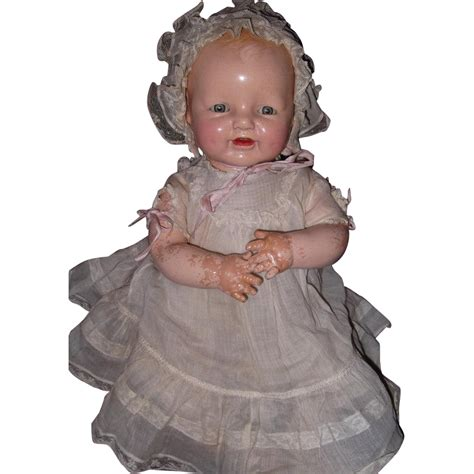 composition doll dimples horsman factory orignal dimples composition baby doll from