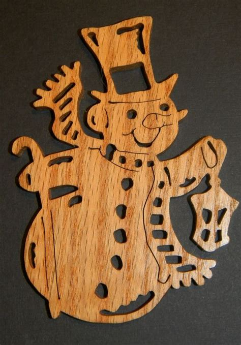 christmas patterns scroll saw just me let it snow snowman ornaments scroll saw
