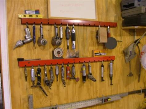 Air Tool Storage Rack by Pin By Thommya On Tools