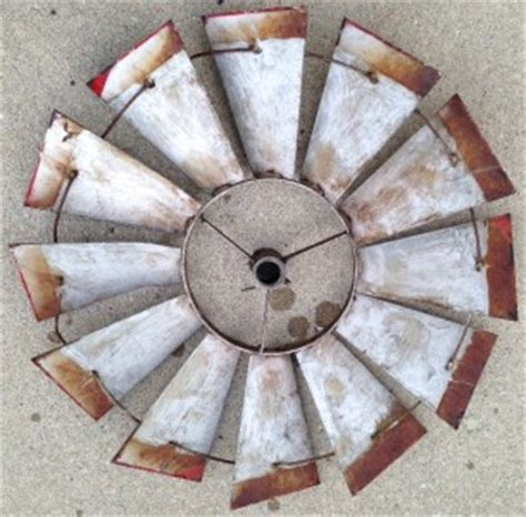 antique windmill fan for sale vintage windmill blades patina red perfect for