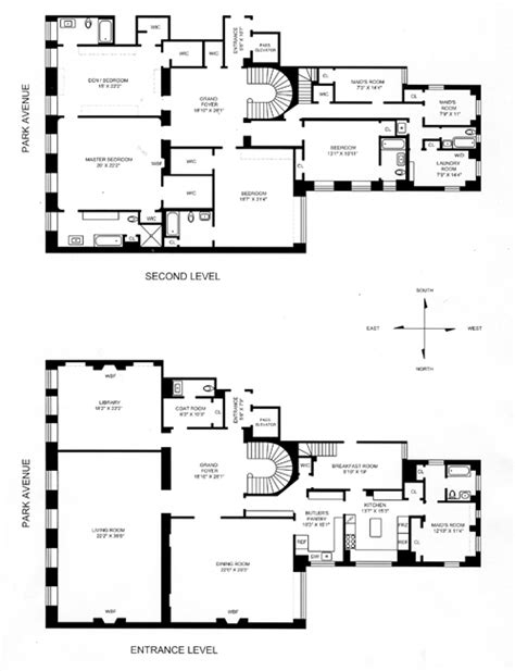 740 park avenue floor plans photos 6 7a 740 park avenue jackie bouvier kennedy