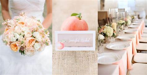 decorazioni per il matrimonio color pesca le proposte pi 249