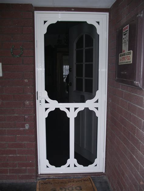 Decorative Security Screen Doors by Decorative Doors Number One Security