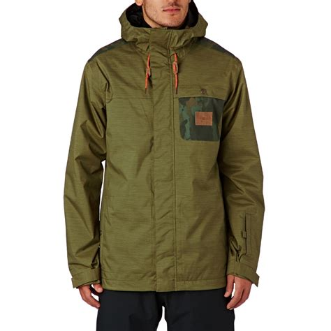 Jacket Parka Dc Army Finger dc delinquent snow jacket olive free delivery options
