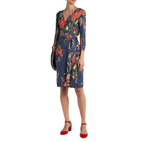 Diana Dress Jersey diane furstenberg v neck silk jersey wrap dress evachic