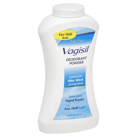 Baby Powder Detox by Vagisil Deodorant Powder Talc Free 8 Oz 227 G Health