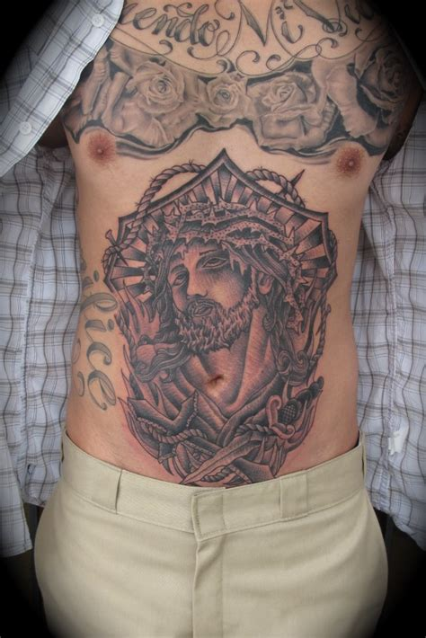 cross tattoos on stomach stomach tattoos page 5
