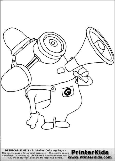 despicable me 2 coloring pages despicable me 2 minions coloring pages www esmethompson
