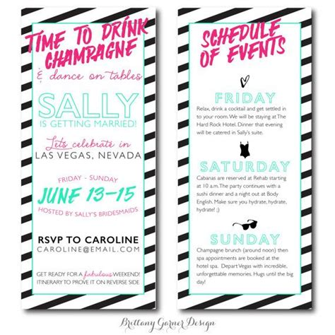 bachelorette itinerary template neon quotes for bachelorette quotesgram