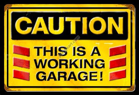 Garage Sign by Shop Garage Signs From Garage Llc