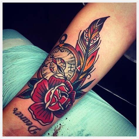 rose feather tattoo 35 amazing wrist designs wrist