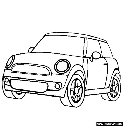 mini car coloring page mini cooper coloring page 26918 bestofcoloring com