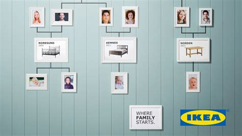 ikeas family tree ads show  beds     generation  conceived adweek