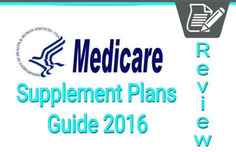 supplement insurance medicare supplement plans review medigap health