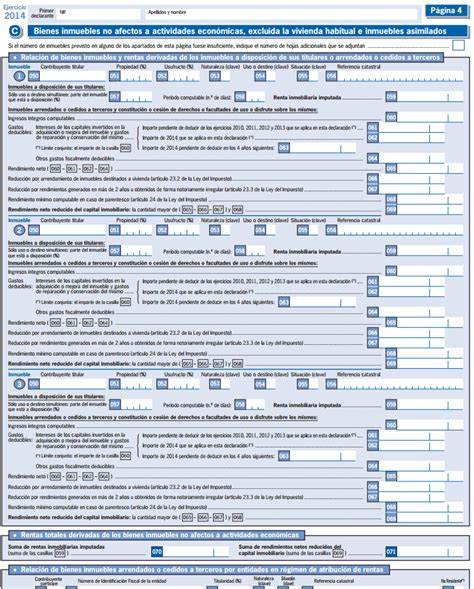 declaracion de renta 2015 ejemplo deducci 243 n por alquiler de vivienda habitual el arrendador