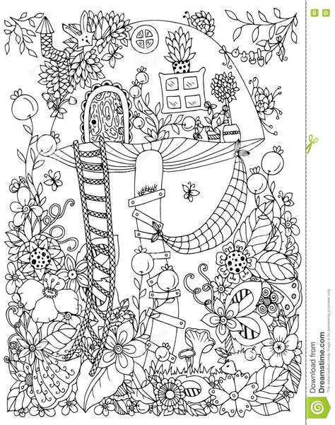 anti stress coloring book doodle and color your stress away doodle illustration of a hedgehog and baby vector