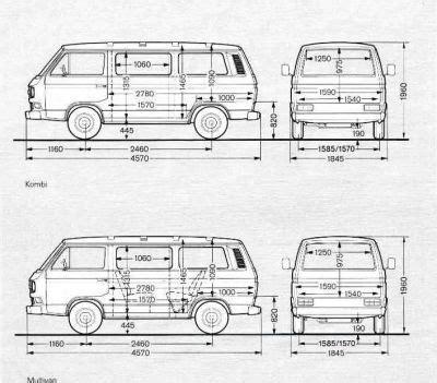 abmessungen vom  roof racks pinterest porsche vw bus  vw bus umbau