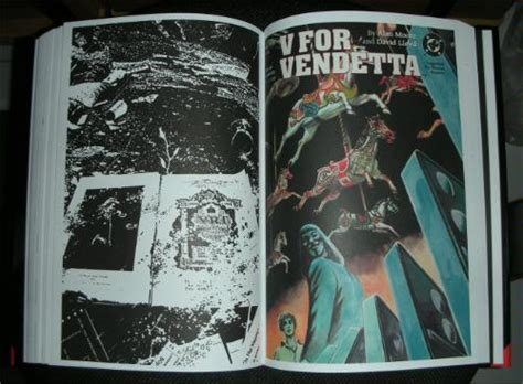 absolute v for vendetta 1401223613 amazon com absolute v for vendetta 9781401223618 alan moore david lloyd tony weare books
