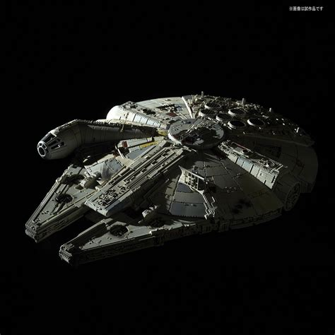 Bandai Swtfa 1 144 Millennium Falcon Assembly Plastic Model Kits wars plastic model kit 1 144 millennium falcon the last jedi bandai japan cad 64 36