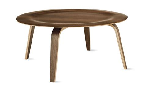 eames 174 molded plywood coffee table design within reach