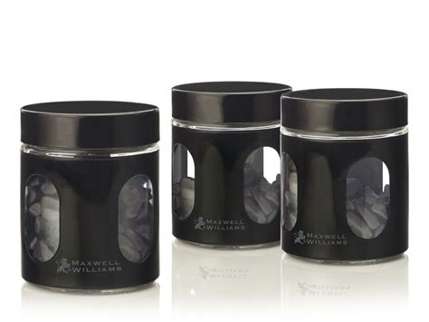 kitchen canister sets black mw kitchen canister jar sets in purple lime black or white