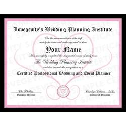 wedding planning courses become a wedding planner