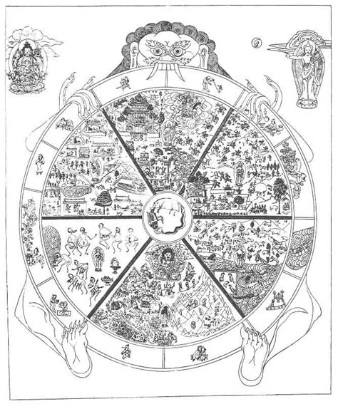 buddhist wheel of template the book of earths the wheel of