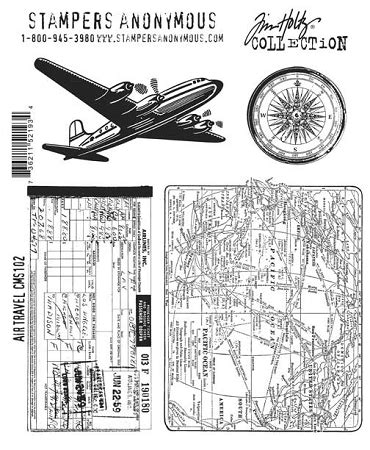 number sts rubber tim holtz cling rubber st set travel