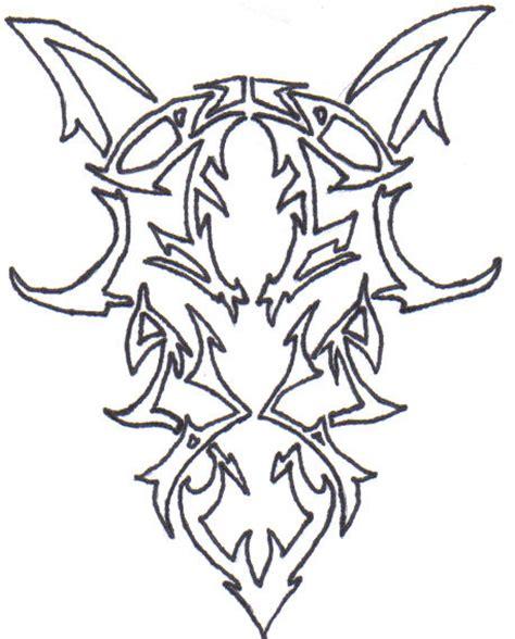 tribal pattern outline tribal goat outline by bloodfangtattoos on deviantart