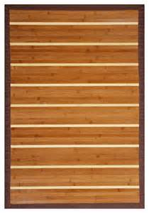 Wood Area Rugs Anji Mountain Premier Bamboo Area Rug Contemporary Hardwood Flooring By Purehome