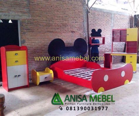 Lu Tidur Mickey Mouse set kamar tidur mickey mouse untuk anak anisamebel
