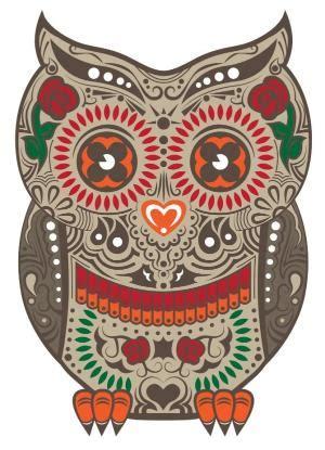 Sugar Skull Owl 1 Skull Sugar Owl Pixel Xl owl sugar skull