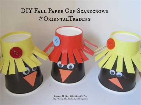 Paper Cup Craft For - 17 best images about crafts diy by the zoo on