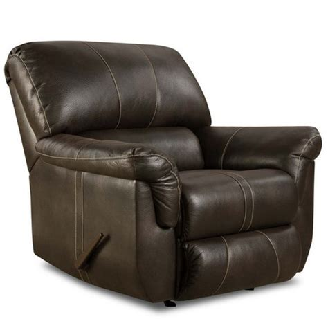 Bonded Leather Recliners blackjack bonded leather power rocker recliner wayfair