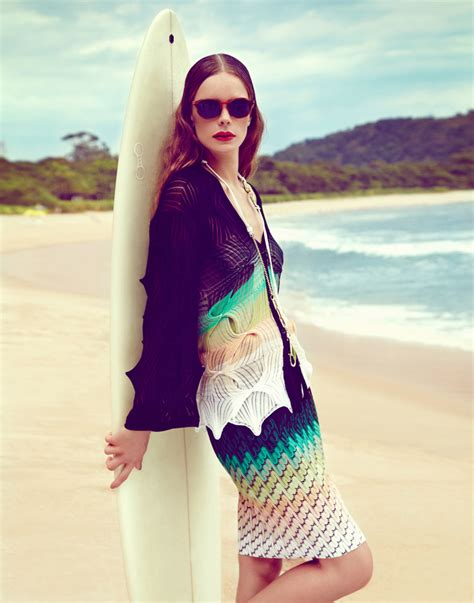 Beach Style erica bertoni dons beach style for plaza july 2013 by