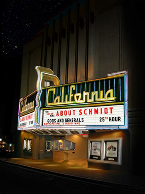 Your Neighborhood Theatre Gift Card Balance - about the california theatre landmark theatres