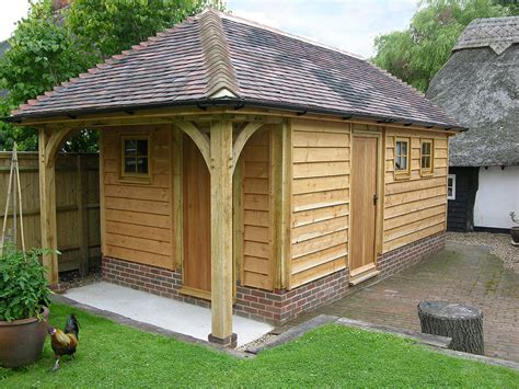 Garden Workshop Ideas Small Buildings And Garden Rooms Brookwood Oak Barns