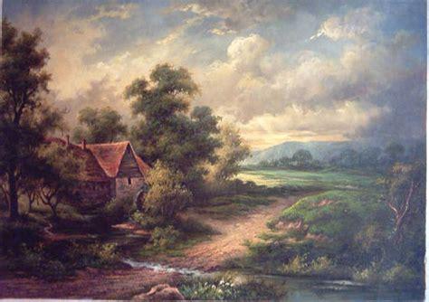 classic paint classic landscape oil painting ak oil painting factory